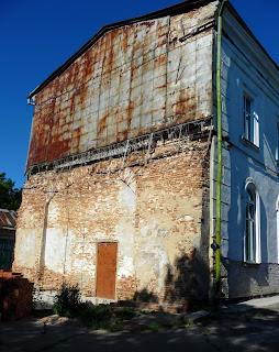 Полтава. Свято-Миколаївська церква. Прибудова 1855 року