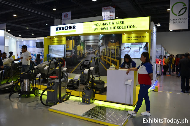 Karcher Exhibit Booth