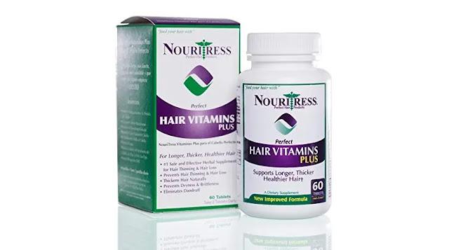 9- NouriTress Perfect Hair Vitamins