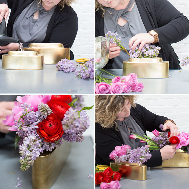 Mandy Majerik of HotHouse Design Studio designs in Accent Decor's Sleek Planter