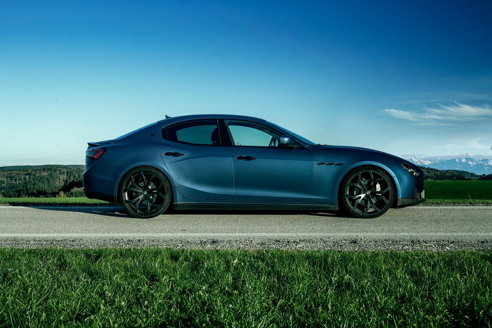 New Maserati Ghibli Power-Tuned by Novitec | Carscoops