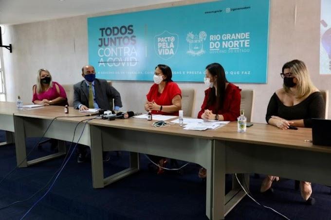 Governadora Fátima Bezerra quer iniciar vacinação contra Covid-19 na segunda quinzena de janeiro