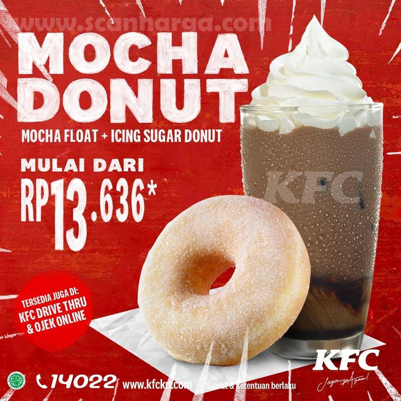 KFC Promo Paket Baru Mocha Donut Harga Mulai Rp 13.636