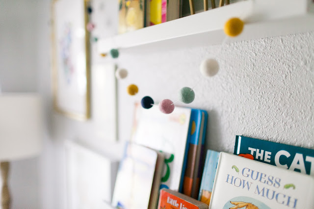Felt Ball Garland - Jesse Coulter Blog