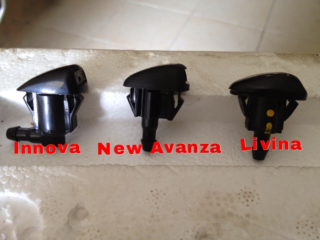 ukuran wiper grand new avanza 2015 veloz 1.5 vs mobilio rs diy ganti nozzle livina dengan
