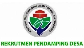 Rekrutmen Pendamping Desa SUMATERA SELATAN (SUMSEL) 2021