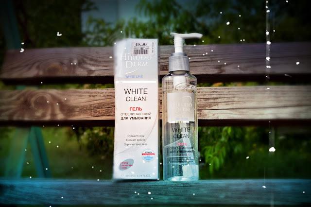 HIRUDO DERM White Clean гель для умывания