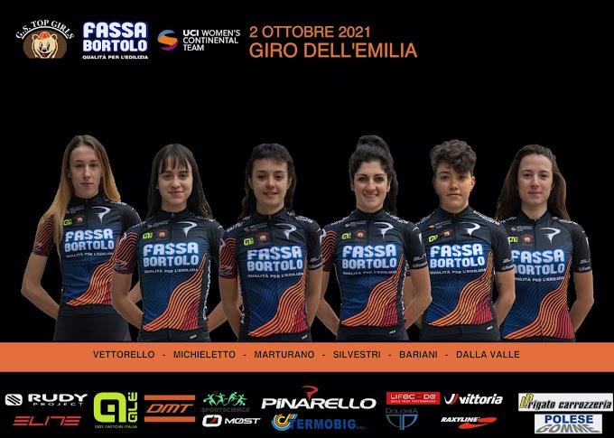 El Giro dell'Emilia y Tre Valli Varesine serán las últimas carreras de la temporada del Top Girls Fassa Bortolo