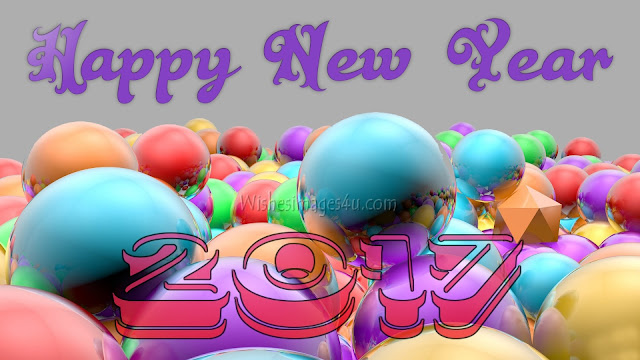 Happy New Year 2017 Artistic 3D Photo/Pics HD Quality Download For Desktop/PC