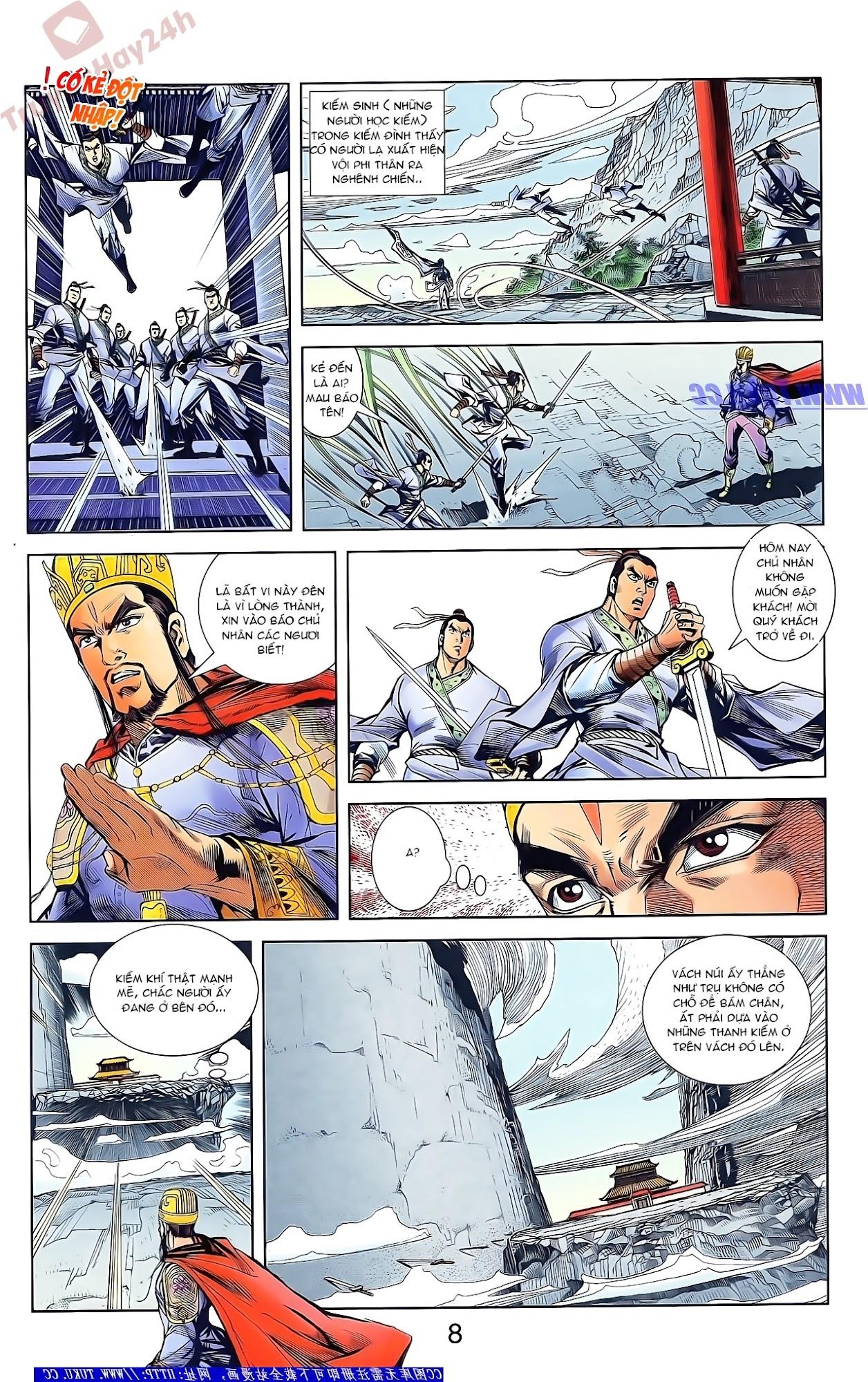 Tần Vương Doanh Chính chapter 47 trang 21