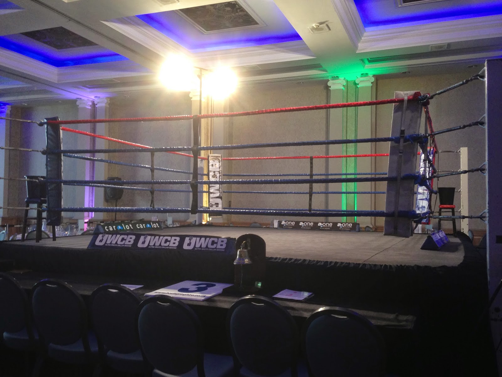 Ladies Ultra White Collar Boxing - Brighton