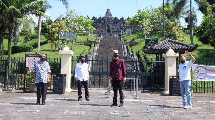 Candi Borobudur Segera Dibuka dengan Protokol Kesehatan Ketat