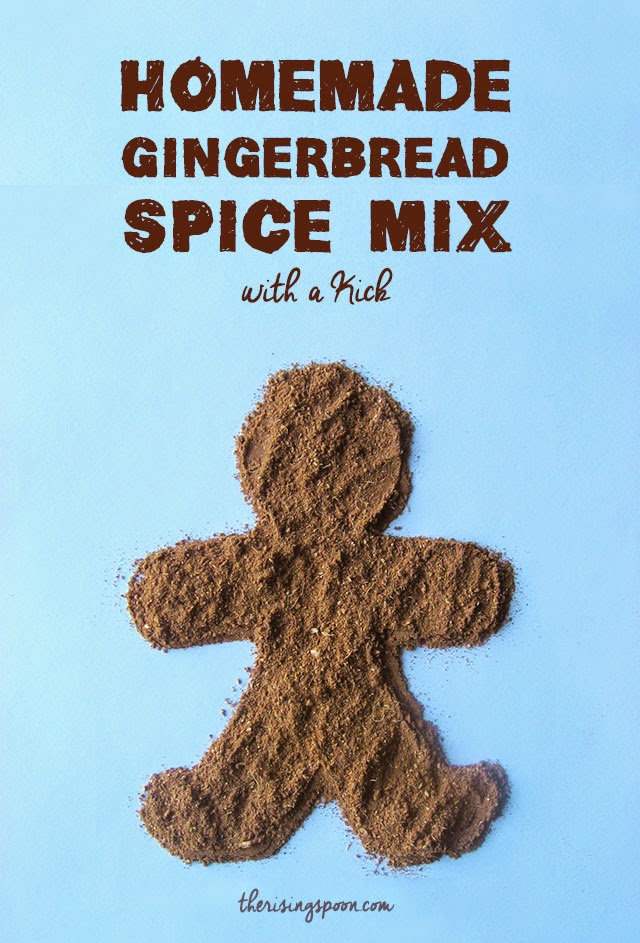 Homemade Gingerbread Spice Mix with a Kick | therisingspoon.com