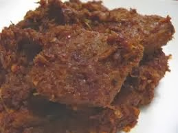 cara membuat rendang daging sapi kering khas padang yang enak dan gurih
