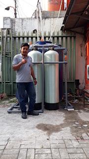 filter air sumur untuk bisnis laundri