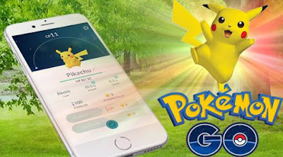 Hp support bermain pokemon go image