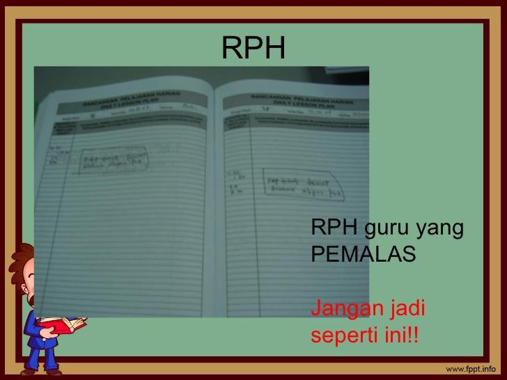 Contoh ayat untuk ditulis dalam refleksi RPH