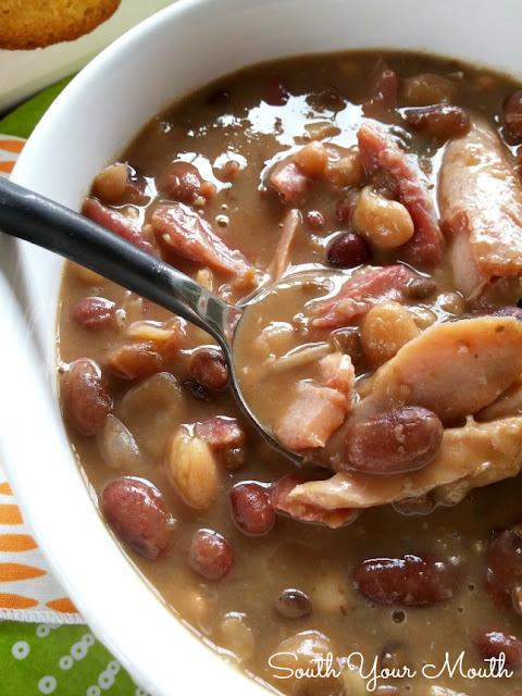 15 Bean Turkey S...Crowder Peas Recipe Cook