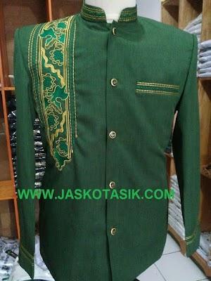Jasko Sorban Batik Hijau