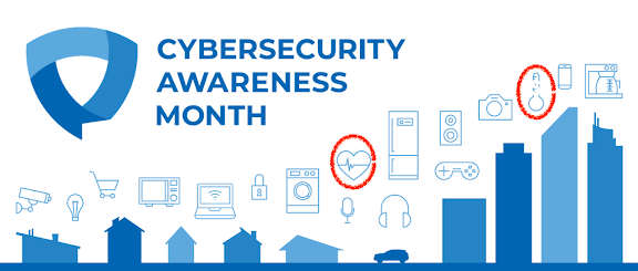 What's different about health data security? A lot! (Cybersecurity Awareness Month, Day 22)