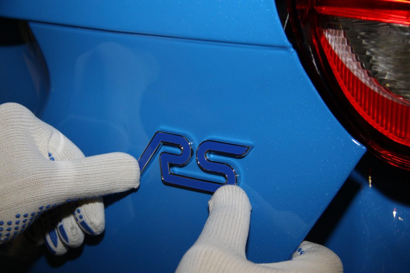 FocusRS Production 04 Το πρώτο Focus RS βγήκε από τη γραμμή παραγωγής του Saarlouis στη Γερμανία, έρχεται και το Ford GT