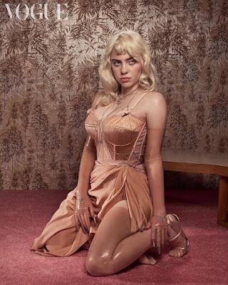 Billie Eilish British Vogue Cover