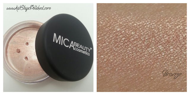 Ipsy August Glam Bag - Mica Beauty Cosmetics Shimmer Powder: Bronze