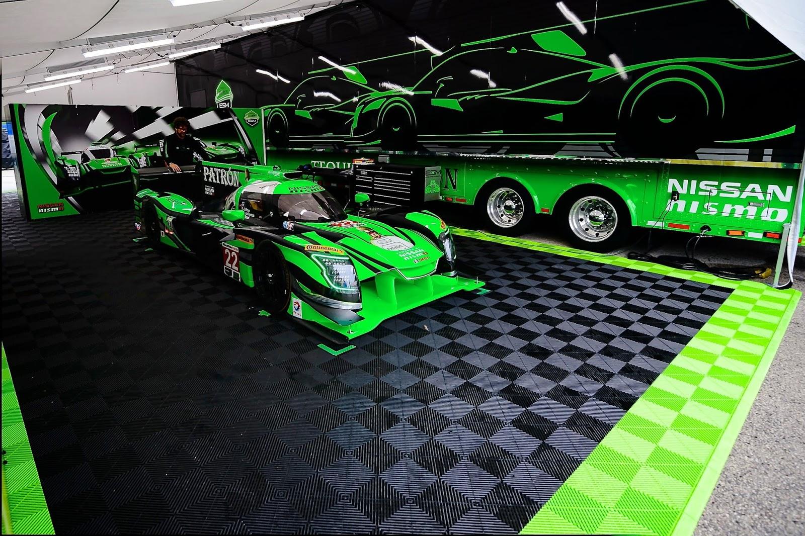 H Nissan κατακτά το Road America με τους Pipo Derani και Johannes van Overbeek στο τιμόνι του  No22 ESM