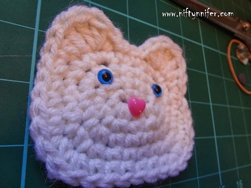 Abstract Crochet Cats: free pattern. This should be my new go-to ...   375x500