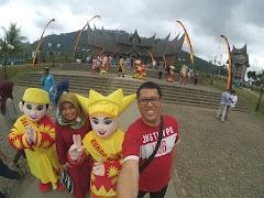 Lanjut Perjalanan ke Istana Pagaruyung Batu Sangkar