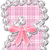 Lindo Abecedario de Costura Rosado. Cute Pink Sewing Alphabet.