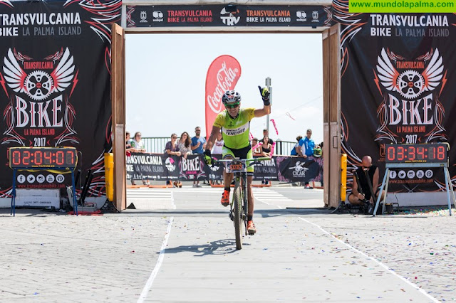 Unai Yus se apunta a la lucha por el triunfo en la Transvulcania Bike