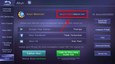 Cara Menautkan (Bind) Mobile Legends Dengan Akun Moonton 21