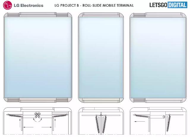 """شركة إل جي """"LG"""" تكشف عن هاتفها المستقبلي بشاشة قابلة للتمدد"""