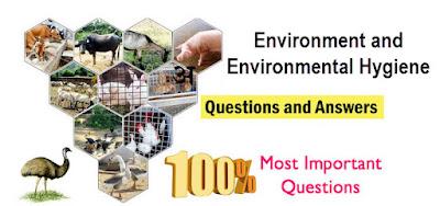 Environment and Environmental Hygiene (Water) MCQS