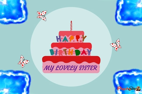 happy birthday sister cake, happy birthday didi cake, happy birthday wishes for sister, happy birthday sister images