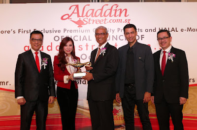 Source: Aladdin Group. From left: Dato' Sri Desmond To, Dato' Dr Grace Kong, Dato' Dr Sheikh Muszaphar Shukor Al Masrie, and Dato' Wesley Ong.