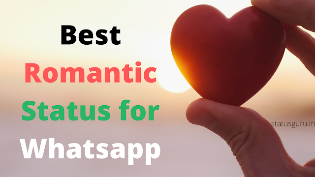 romantic status for whatsapp