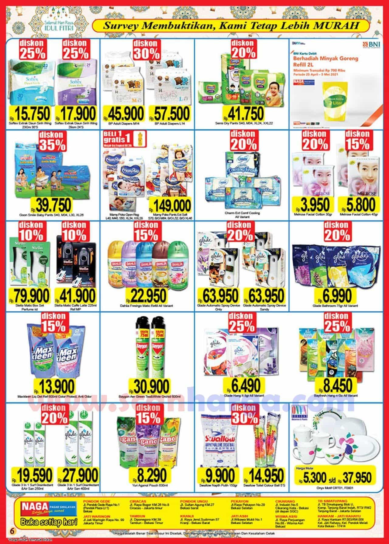 Katalog Promo Naga Pasar Swalayan 25 April - 16 Mei 2021 6