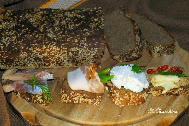 Хлеб без глютена: соево-льняной белковый, низкоуглеводный