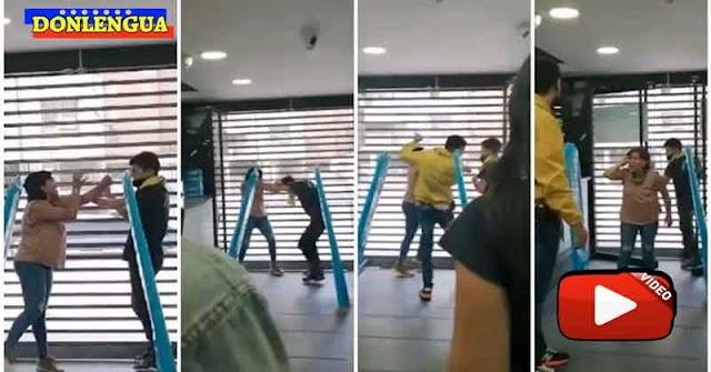 Mujer detenida robando en una tienda de Altamira trata de escapar