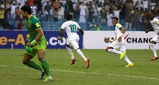 اهداف مباراة السعودية [3-0] تايلاند [23-3-2017] تصفيات اسيا كأس العالم 2018 HD