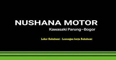 Lowongan Kerja Kawasaki Nushana Motor Bogor Terbaru