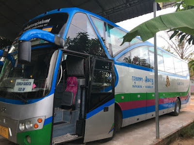 Nattakan Direct Bus from Siem Reap to Bangkok and vice versa