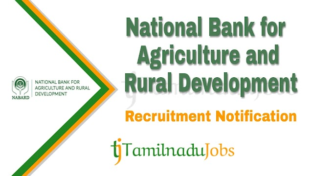 NABARD Recruitment notification of 2020 - for Assistant Manager - 154 post
