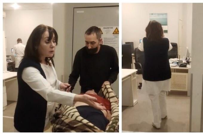 У Харкові п'яна лікарка приймала пацієнтів: скандальне відео потрапило в мережу