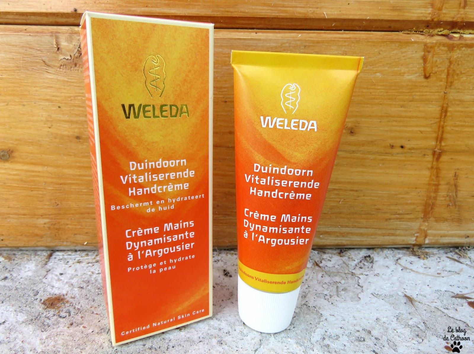 Crème Mains Dynamisante à l'Argousier - Weleda