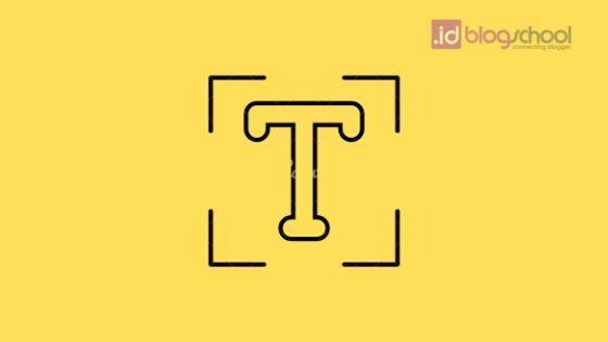 Cara merubah font instagram