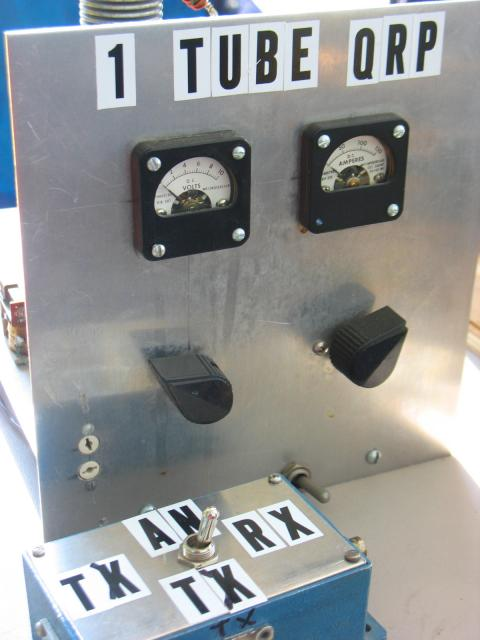 sv3auw: RCA 813 QRP transmitter!