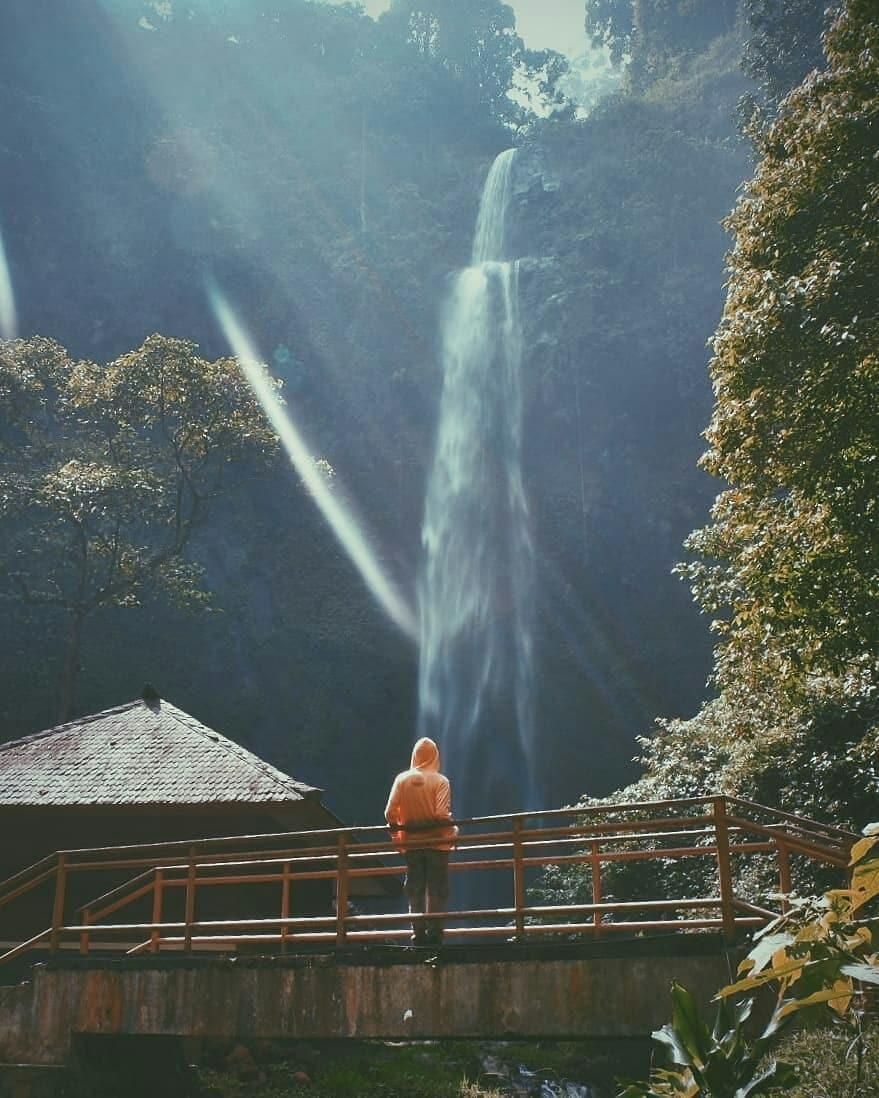 Keindahan Alam Curug Cimahi Bandung